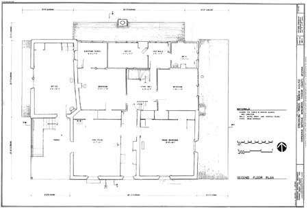 Drawing No 5 Erickson Riggs Ranch House Second Floor Plan Click On Image For A Pdf