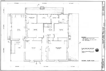 Building drawing plan