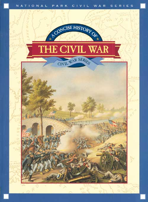 Book Cover Series Books : National park civil war series a concise history of the