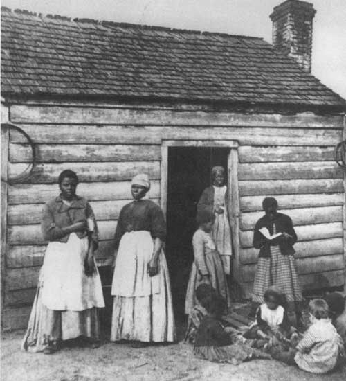 Civil war slave women