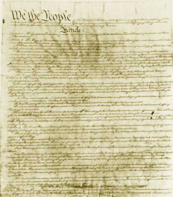 an introduction to the history of the united states constitution The united states constitution was constructed on september 17, 1787 after  months of conflicting views, heated debates and clashing ideas finally yielded to .