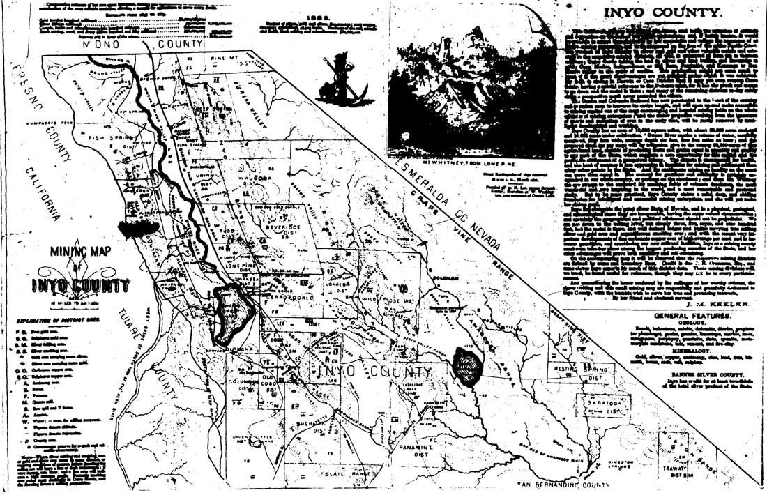 Darwin California Map.Death Valley Np Historic Resource Study List Of Illustrations And