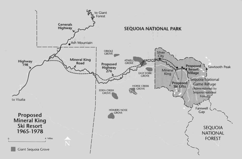 Image Result For California Ski Resort Map