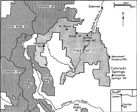 Administering the National Forests of Colorado: An Assessment of the ...