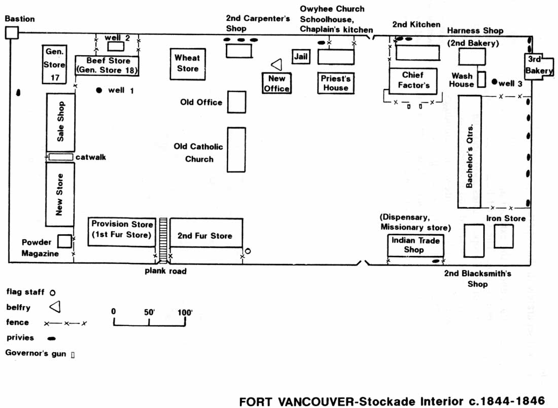 Draw House Map Online Fort Vancouver Cultural Landscape Report Chapter 3