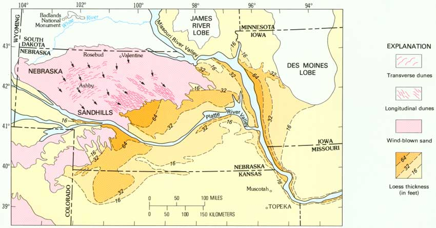 Usgs Geological Survey Bulletin 1493 Landforms Of Today The