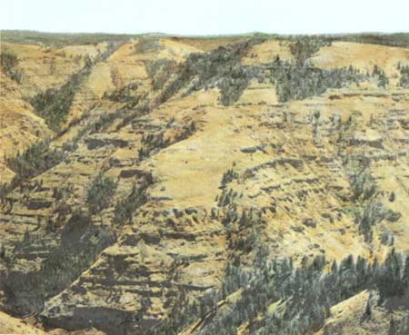 Scablands Washington Map.Usgs The Channeled Scablands Of Eastern Washington Geologic Setting