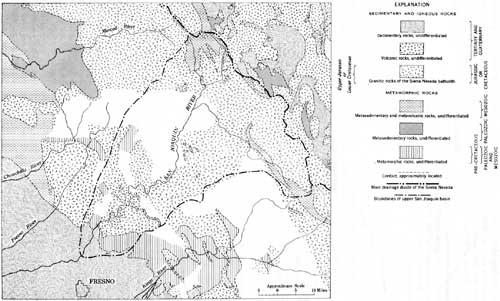 Usgs geological survey professional paper 329 reconnaissance of geologic map of san joaquin basin and surrounding region click on image for a pdf version gumiabroncs Choice Image