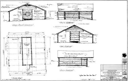 corn crib plans
