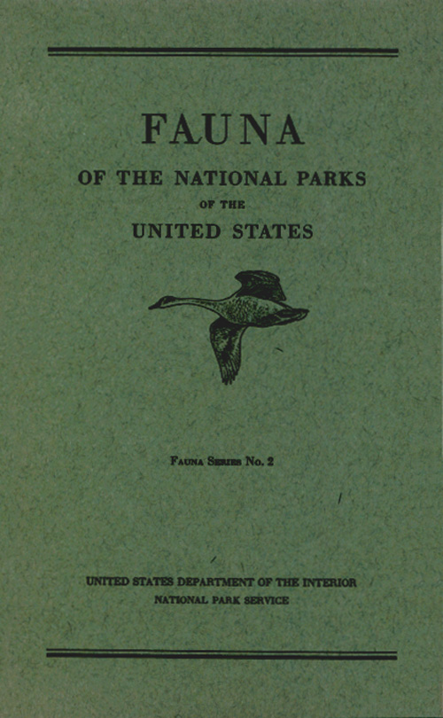 National Park Service Handbooks Series Fauna