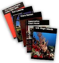 Photo of national park handbooks