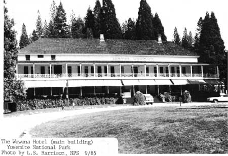 National Park Service Architecture In The Parks Wawona Hotel And Thomas Hill Studio