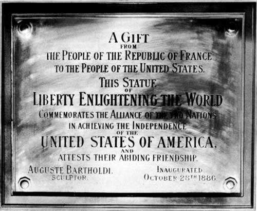 Image result for the dedication of the statue of liberty