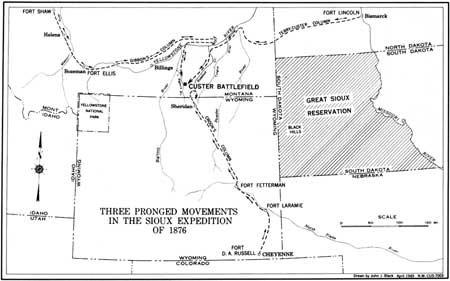 Hh C T on Sioux Indian Reservation Map