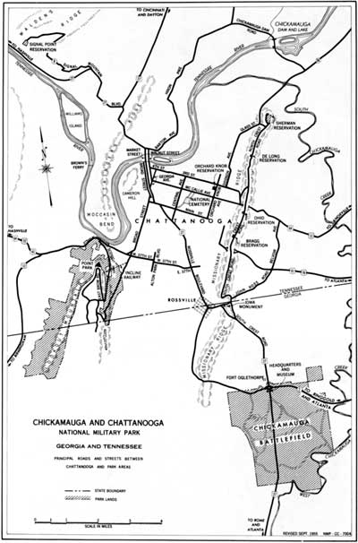 Image Result For Chickamauga Battlefield Map