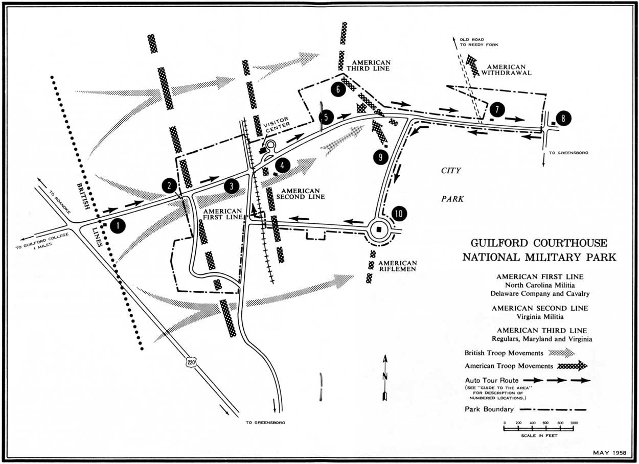 the battle of the guilford county courthouse Park historian john durham visits the battlefield and talks about the battle at guildford county courthouse, a revolutionary war battle fought on march.