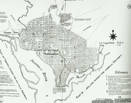 Designing The Nation 39 S Capital The 1901 Plan For Washington D C