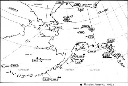 National Park Service: Russian America Theme National ... on map of portsmouth island, map of richmond island, map of atka island, map of jackson island, map of st. paul island, map of aleutian islands, map of pribilof islands, map of raspberry island, map of wrangel island, map of faial island, map of whale island, map of shelikof strait, map of arctic national wildlife refuge, map of bremerton island, map of seward peninsula, map of prince of wales, map of ketchikan island, map of wrangell island, map of door peninsula, map of sitkalidak island,