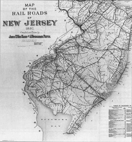 Similiar New Jersey Railroad Map Keywords