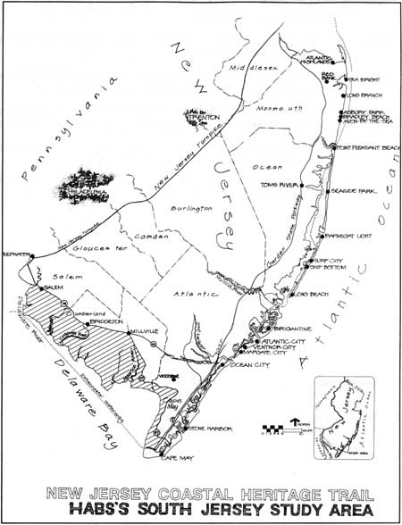 National Park Service Southern New Jersey And The