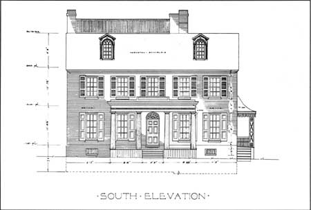 National park service southern new jersey and the for Reproduction house plans
