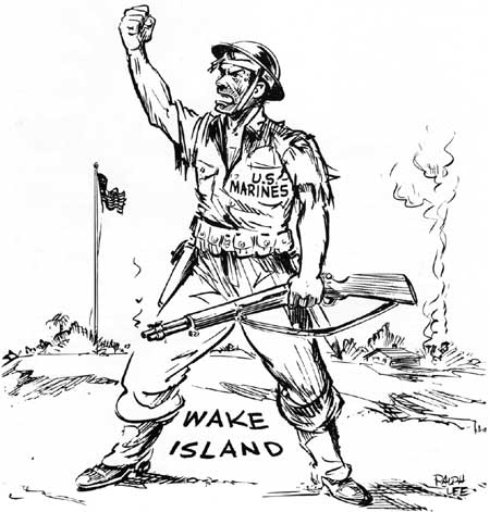 A Magnificent Fight Marines In The Battle For Wake Island