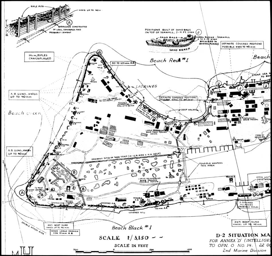 Across The Reef The Marine Assault Of Tarawa DDay At Betio - tarawa atoll map