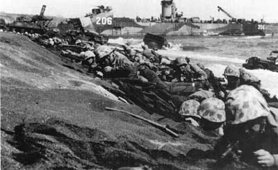 Closing In: Marines in the Seizure of Iwo Jima (D-Day)