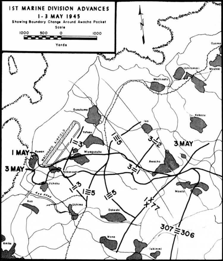 the final c aign marines in the victory on okinawa assault on shuri 105Mm Tank Shell map