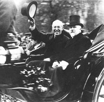 """woodrow wilson peace without victory and For president woodrow wilson, the war was about peace and freedom in  january 1917, wilson had introduced the idea of a """"peace without victory"""" in an."""
