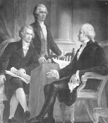 thomas jefferson and george washington relationship