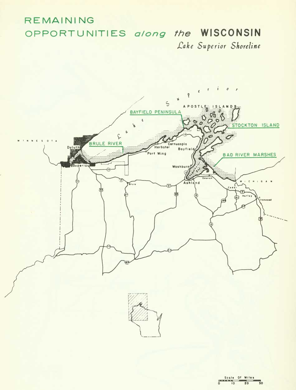 National Park Service Great Lakes Shoreline Recreation Area Survey