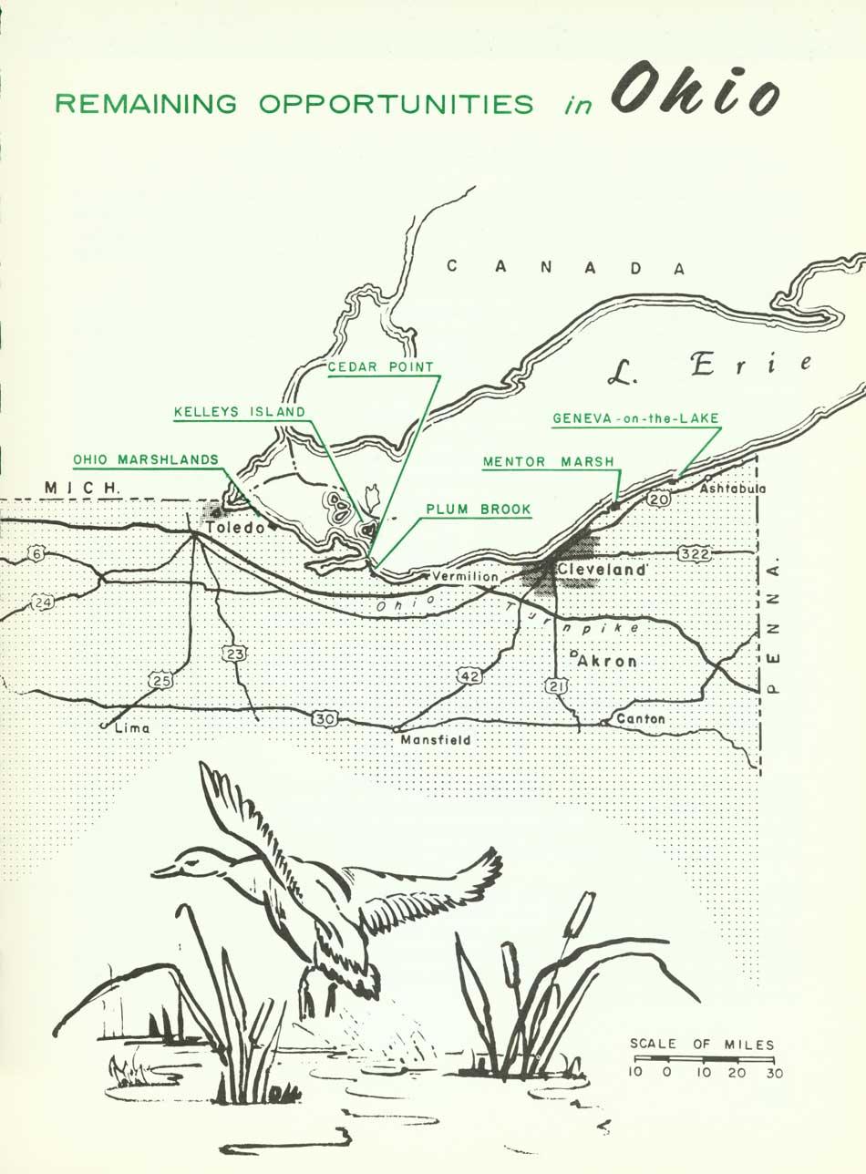Cedar Point Ohio Map on