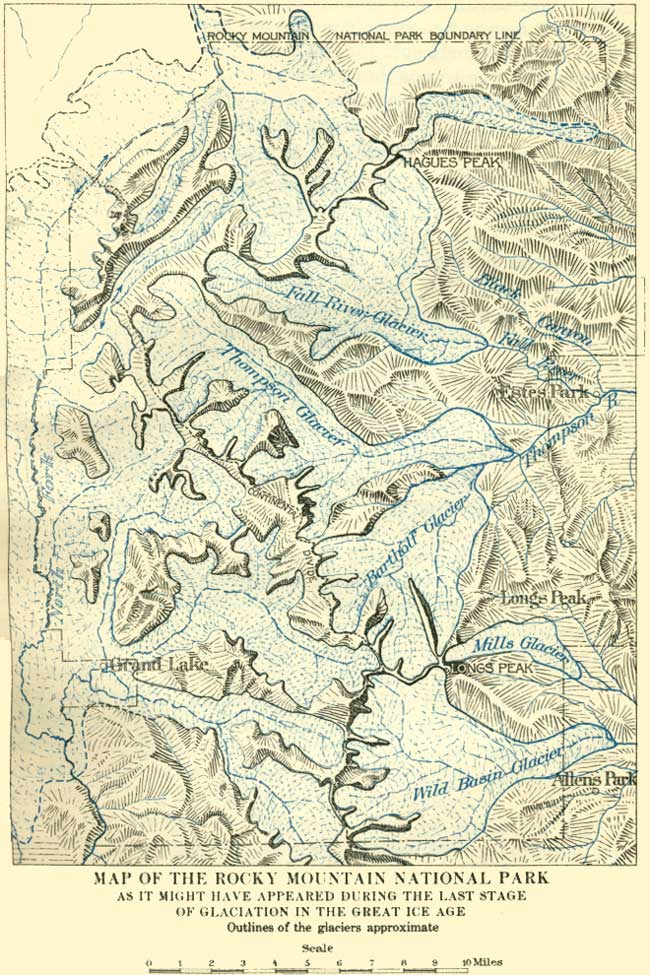 NPS: The Geologic Story of the Rocky Mountain National Park Colorado ...
