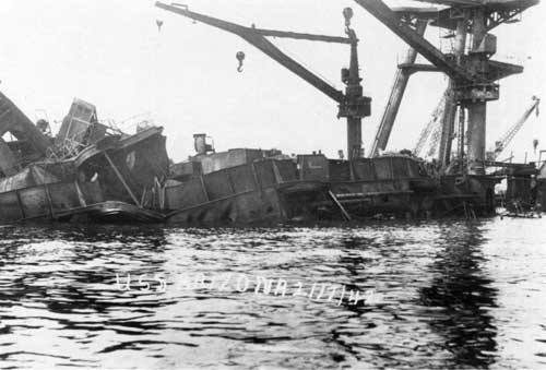 USS ARIZONA MEMORIAL: Submerged Cultural Resources Study (Table of