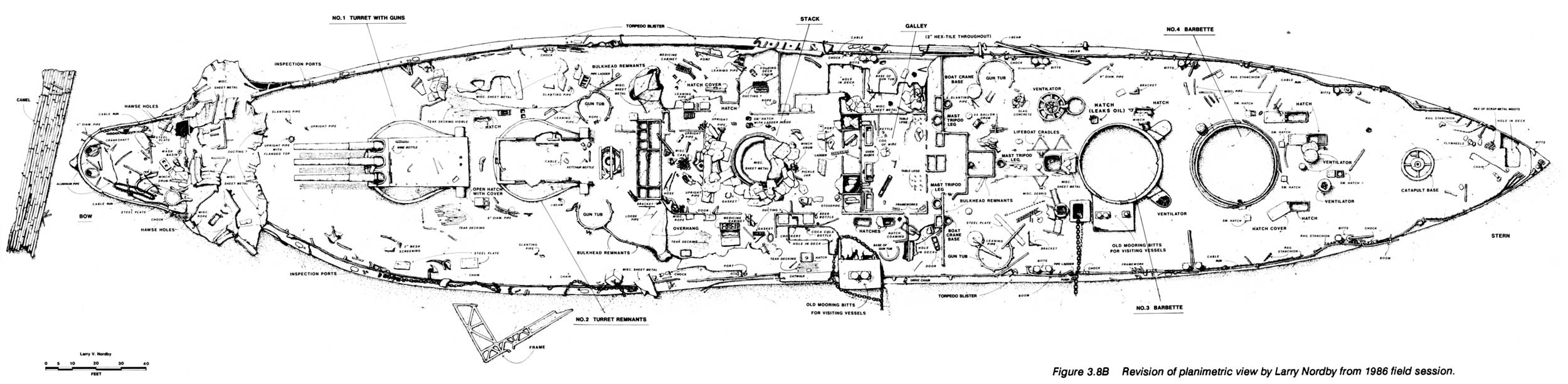 Uss Arizona Memorial Submerged Cultural Resources Study Table Of 2002 Ford Ranger 2 3l Engine Diagram 38