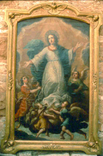 Artwork of pueblo patroness