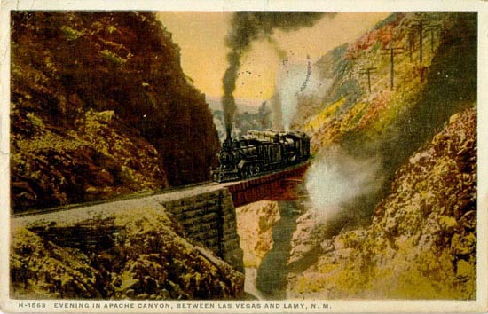 apache canyon postcard