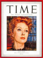 Movie star cover of 1943 Time Magazine