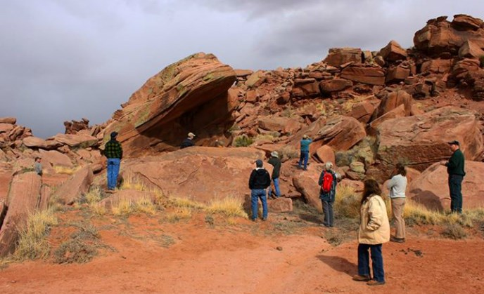 Petrified Forest Friends Group tour of the Expansion Lands