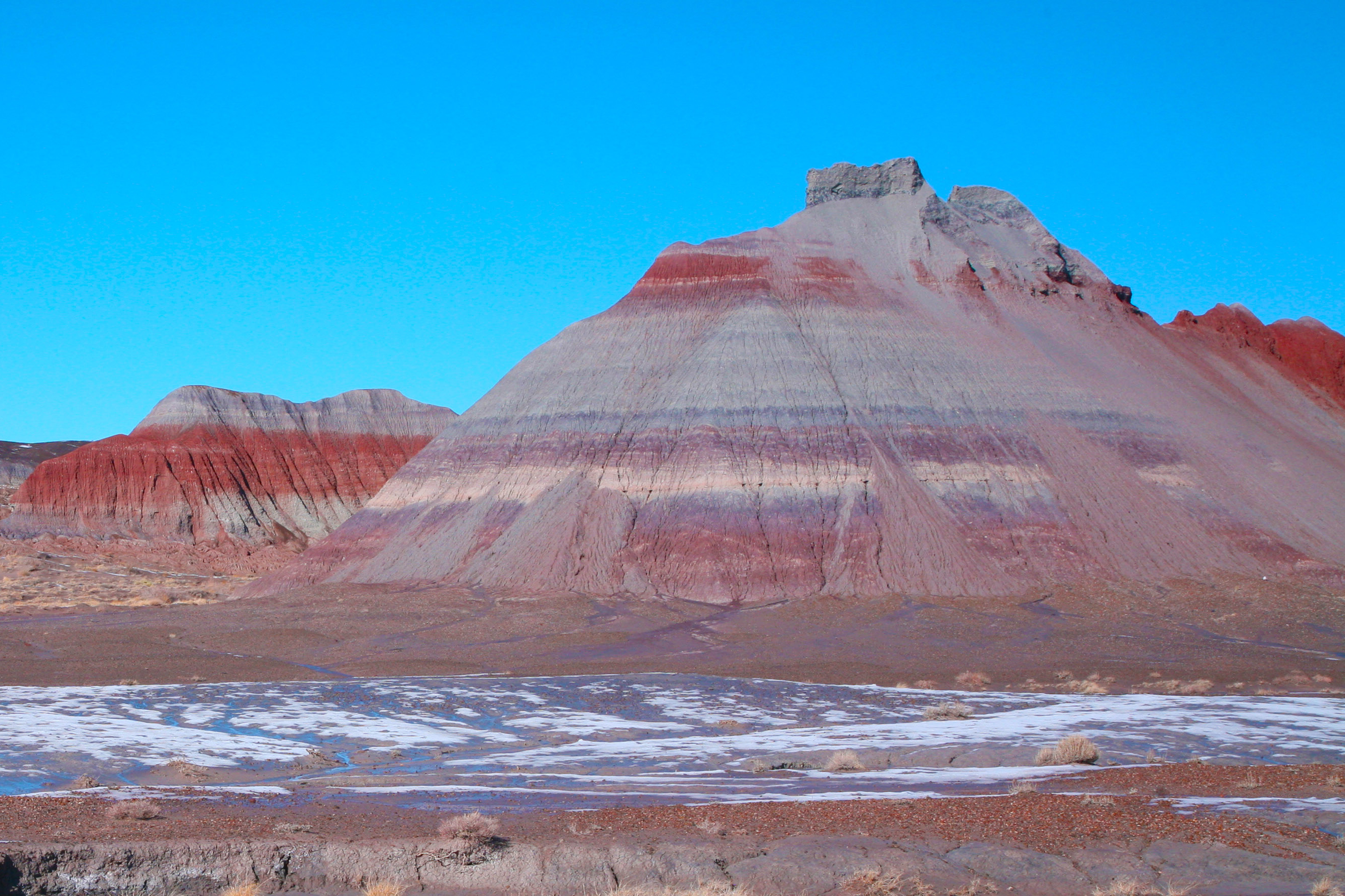 Chinle Formation Tepees Petrified Forest NPS