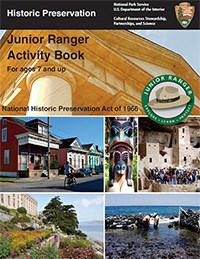 Historic Preservation Jr. Ranger Booklet