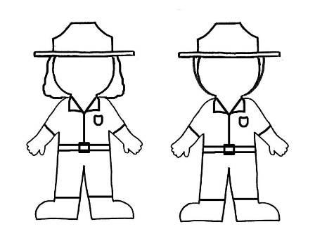 Park ranger coloring pages ~ Forest Ranger Coloring Pages Of Coloring Pages