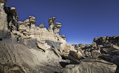 Hoodoos in Devil's Playground, Petrified Forest National Wilderness Area
