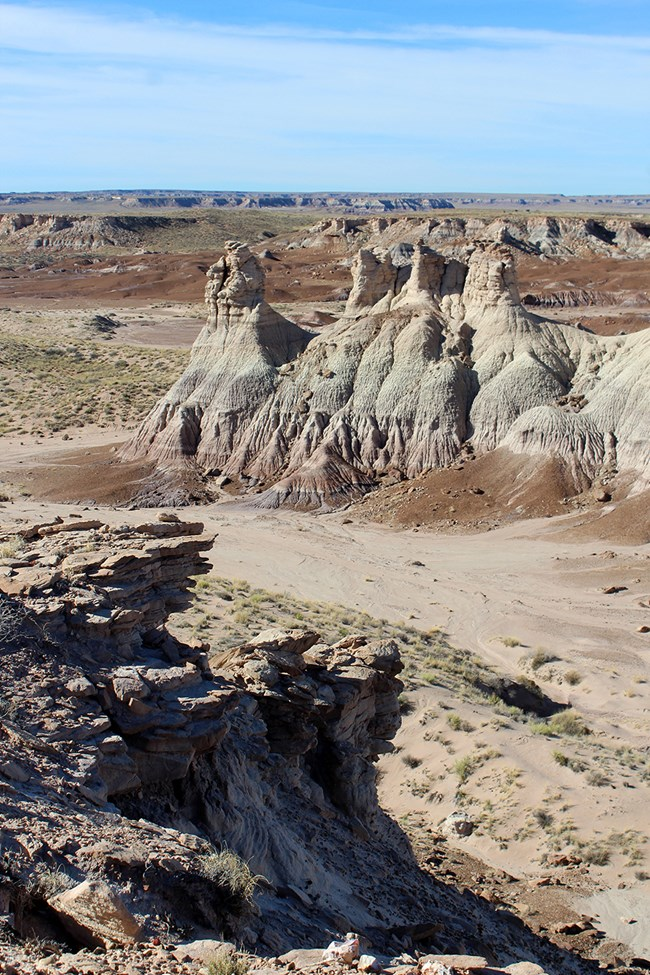 Mesas, buttes, and hoodoos