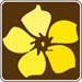 yellow wildflower symbol