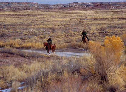 Petrified Forest National Park Pony Express