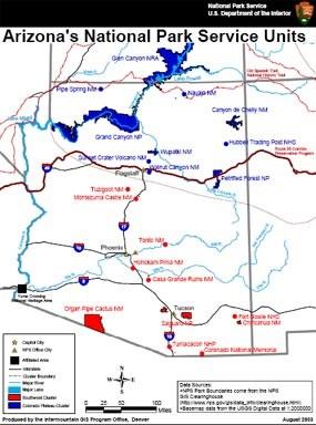 Maps   Petrified Forest National Park (U.S. National Park Service)