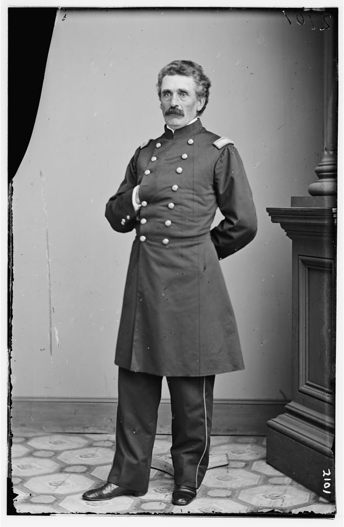 Period image of Gen. Thomas Davies