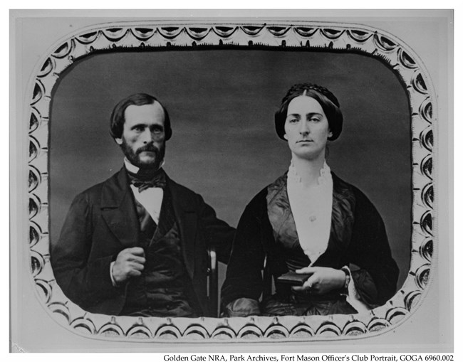 Portrait of John C. Fremont and Jessie Benton Fremont